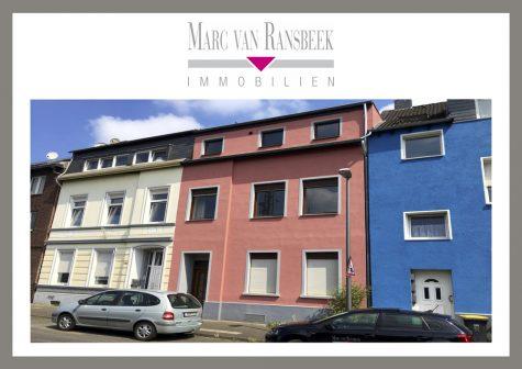 KREFELD-OPPUM – GÜNSTIGES STADTHAUS – SANIERUNGSSCHÄTZCHEN  FÜR HANDWERKER, 47809 Krefeld / Oppum, Stadthaus