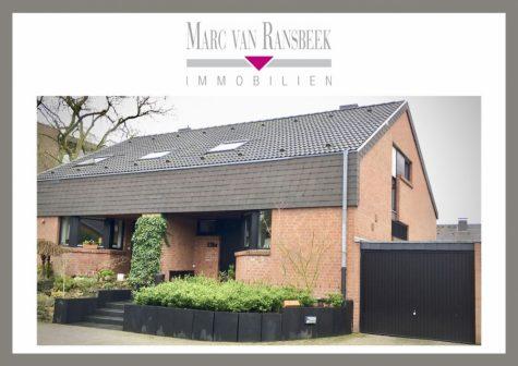 RUHIGE STADTWALDLAGE – RENOVIERTES EINFAMILIENHAUS – AB MAI VERFÜGBAR, 47800 Krefeld, Doppelhaushälfte