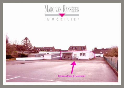 MITTEN IN KR-FISCHELN – CA. 253 QM BEHEIZTE LAGER-/ PRODUKTIONSFLÄCHE – EHEMALIGE DRUCKEREI, 47807 Krefeld, Fischeln, Lagerfläche