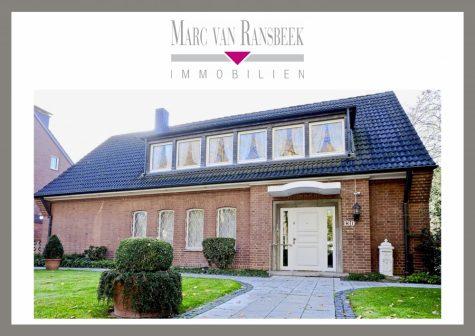 """EINMALIGE GELEGENHEIT!! – """"KLASSIKER DER FÜNFZIGER"""" MIT TRAUMHAFTER KULISSE UND WELLNESS-BEREICH, 47803 Krefeld, Einfamilienhaus"""
