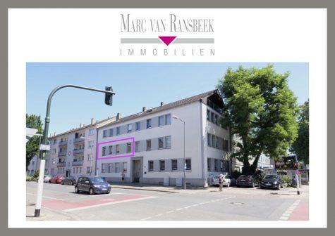 KR-BISMARCKVIERTEL – STADTNAHES & HELLES APPARTEMENT FÜR DEN SINGLE, 47799 Krefeld, Etagenwohnung