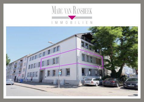 KR-BISMARCKVIERTEL – STADTNAHE & HELLE 3-ZIMMERWOHNUNG MIT LOGGIA – FÜR MAX. 2 PERSONEN GEEIGNET, 47799 Krefeld, Etagenwohnung